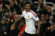 This superb Marcus Rashford goal helped put United in FA Cup semis tonight