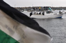 Israeli forces board flotilla as protesters ask Irish government to intervene