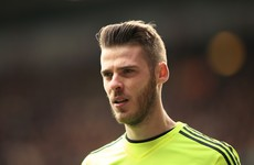 David de Gea conjured one of his finest saves of the season last night
