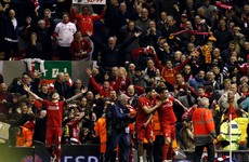 As it happened: Liverpool v Borussia Dortmund, Europa League
