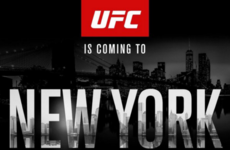 Madison Square Garden will host New York's first UFC event this year as MMA is legalised