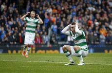 There was a contender for miss of the season in today's Rangers-Celtic clash