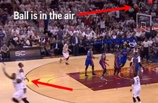 LeBron James comically failed trying to copy the Stephen Curry 3-pointer celebration