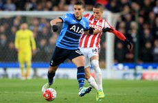 As it happened: Stoke v Tottenham, Premier League