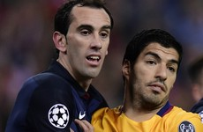 Atletico Madrid defender speaks out on Suarez elbow