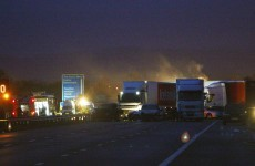 In pictures: seven killed, dozens injured in Somerset motorway pile-up