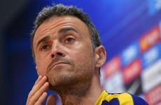 'I get high on adversity' - Luis Enrique defiant despite Barca slump