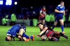 Leinster's McFadden suspended for three weeks for dangerous tackle
