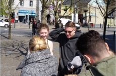 Macklemore was spotted cruising around Galway today having the craic