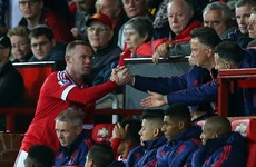 Van Gaal admits Rashford is forcing Rooney into deep role