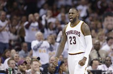 Watch: LeBron to the fore as Cavaliers tie NBA playoff record