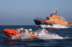 Lone sailor saved by RNLI after getting stuck on sandbank