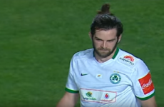 Irish striker Cillian Sheridan helps fire his side to Cypriot Cup final