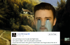 That Conor McGregor Statement In 12 Gifs