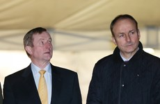 Micheál Martin and Enda Kenny talked over the phone tonight - and will again tomorrow