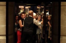 Watch: Hotel staff struggle to keep Bieber fans out as MTV hits Belfast