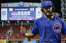 Arrieta claims second career no-hitter as Cubs paint the town Reds