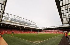 Liverpool's Anfield home to stage rugby league for the first time in 19 years