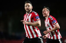 9 games unbeaten for high-flying Derry as Patterson scores again