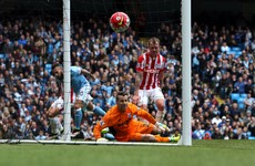 Further injury woe for Shay Given as he limps out of Stoke's game at Man City