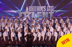 That Kilkenny school choir were the stars of last night's Britain's Got Talent