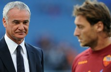Claudio Ranieri plays down Totti to Leicester rumours