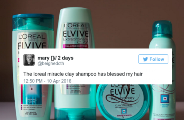 That new L'Oreal clay shampoo is the saviour of greasy-haired Irish gals