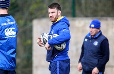 Sean O'Brien will 'definitely' be back for Leinster before the Pro12 play-offs