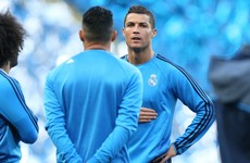 Cristiano Ronaldo misses tonight's Champions League semi-final through injury