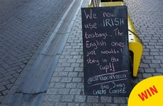 This Carlow café used their chalkboard to share the best bad jokes