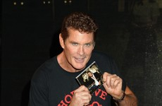The Hoff is going to be in Lillies this weekend... It's The Dredge