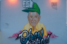 A wonderful Bill O'Herlihy mural has been unveiled on the wall of this Dublin pub