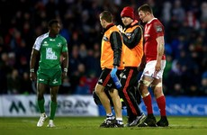 Donnacha Ryan misses out on crucial Munster clash with Edinburgh