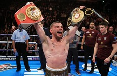 Date set for Frampton's WBA title fight in New York as he vacates IBF belt