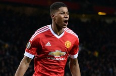'Rashford's movement reminds me of Van Basten' - Merson