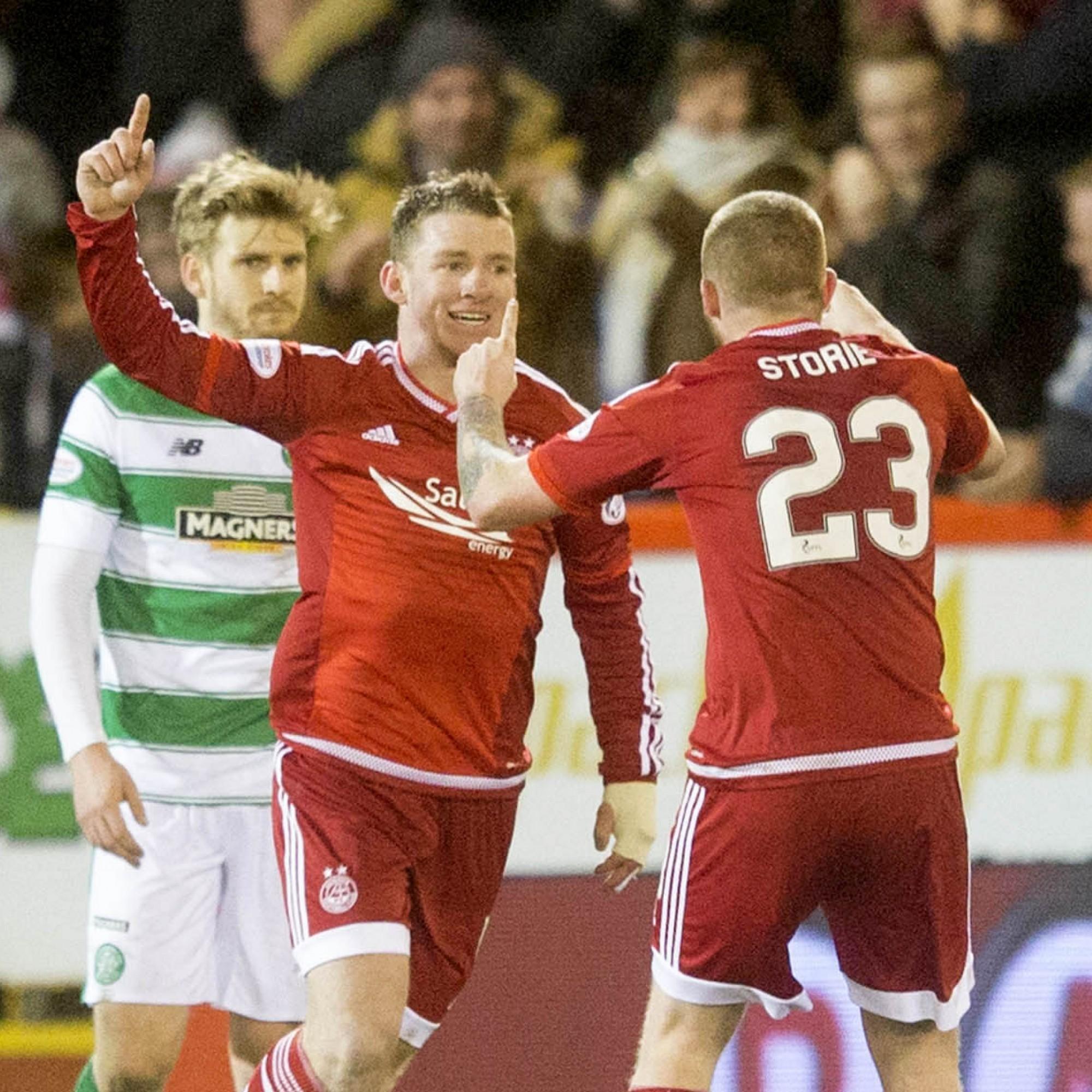 Irish international Jonny Hayes named in Scottish Premiership Team of the Year