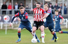 Derry's 9-game unbeaten run ended by Sligo