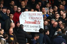 Wenger blames Emirates atmosphere for Arsenal title slump