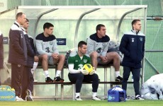 Shay Given sits out Ireland squad training at Malahide