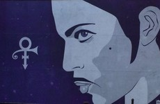 This lovely Prince mural has gone up in Dublin