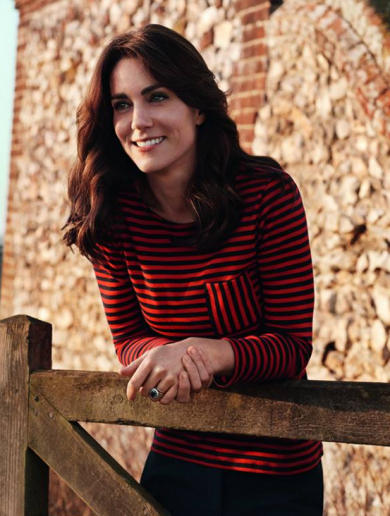 Cover girl: Kate Middleton appears on the front of Vogue magazine