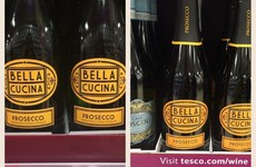 This complaint about the price of Tesco prosecco in Ireland is causing a stir