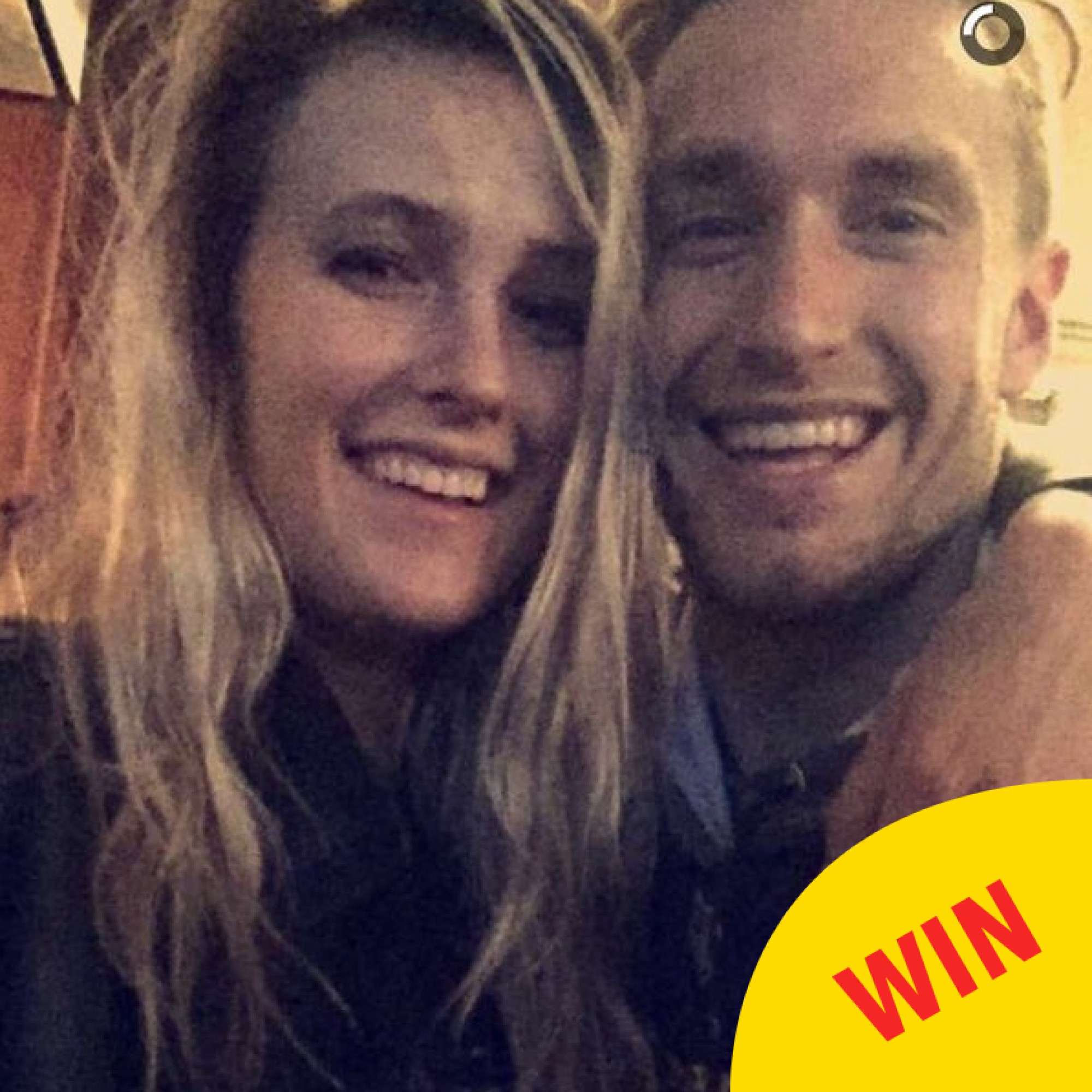 Two students turned their campus Snapchat into a sweet love story