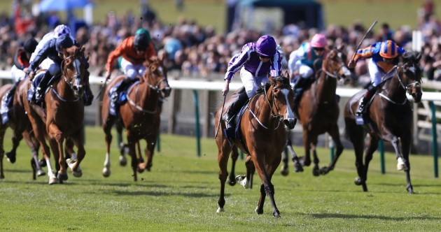 Minding leads home a Aidan O'Brien clean sweep in 1000 Guineas