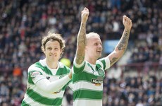 Disappointment for Irish winger as Griffiths named Scottish player of the year