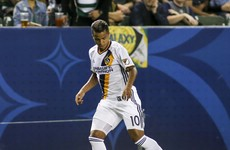 Giovani produces another moment of brilliance but 10-man Galaxy held after Ashley Cole red