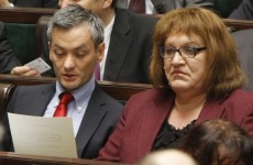 Transsexual woman and gay man make debuts in Polish parliament