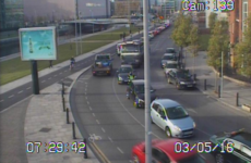 Commuting liveblog: Traffic very slow in Dublin city centre, and the M50 is super busy