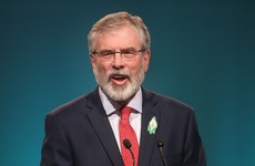 "Gerry Adams: ""I've never seen myself as white. That's only skin deep."""