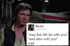 People who grew up Catholic have only one 'May the fourth' response